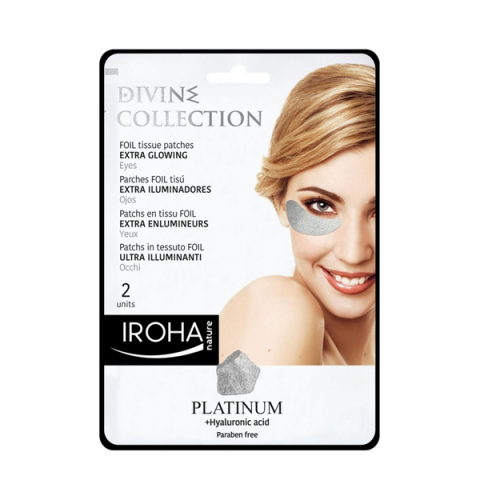 IROHA                                    - Cura Viso - Divine Platinum Patches Foil Ultra Illuminanti - Occhi - 025011PIN09