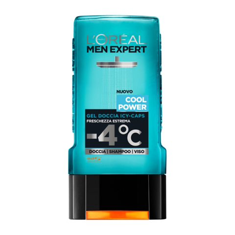 L'ORÉAL PARIS                            - Men Expert - Cool Power Gel Doccia Icy-Caps - 043025003