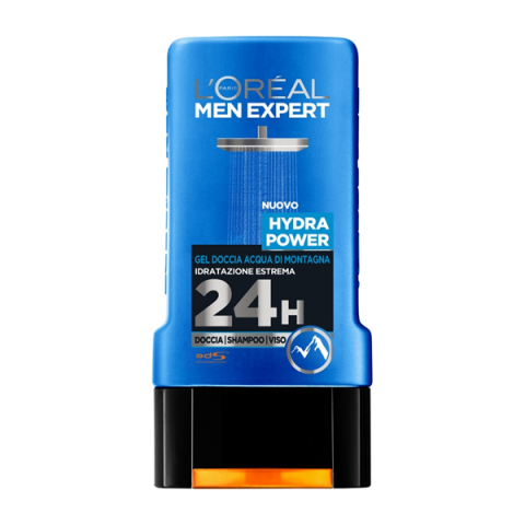 L'ORÉAL PARIS                            - Men Expert - Hydra Power Gel Doccia Mountain Water - 043025005