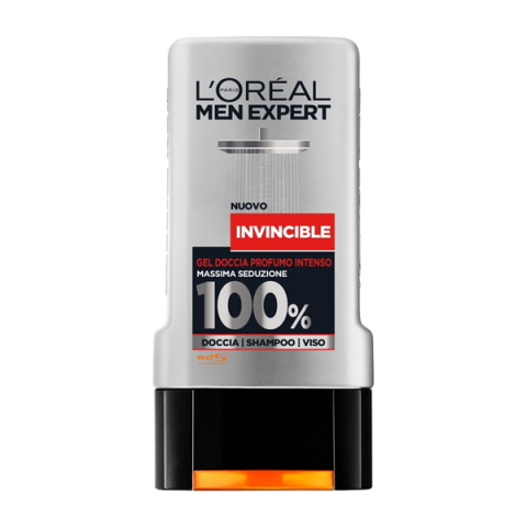 L'ORÉAL PARIS                            - Men Expert - Invincible Gel Doccia Intense Fragrance - 043025006