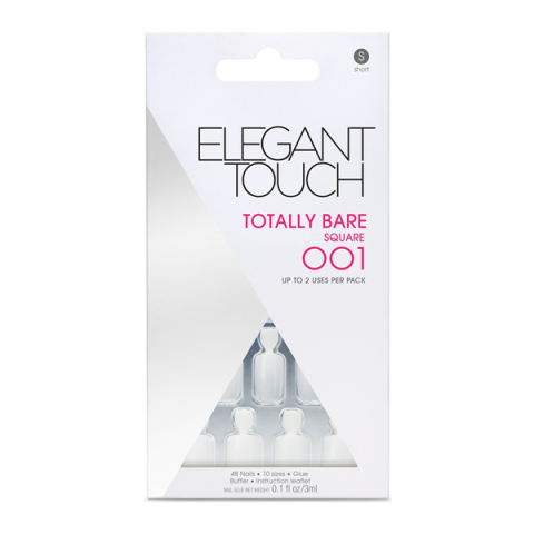 ELEGANT TOUCH                            - Manicure - Totally Bare Square 001 - 13900149004