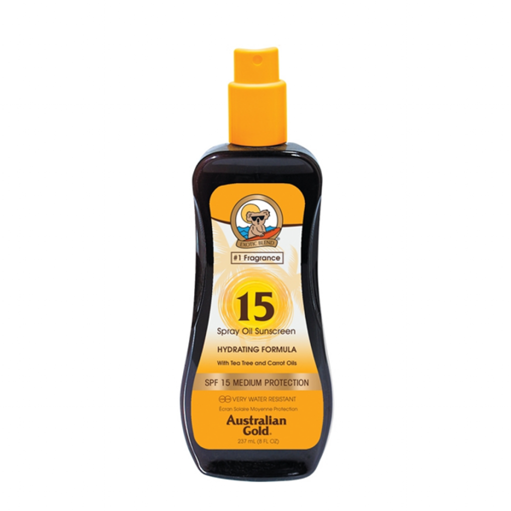 SPF15 Spray Oil with Tea Tree and Carrot