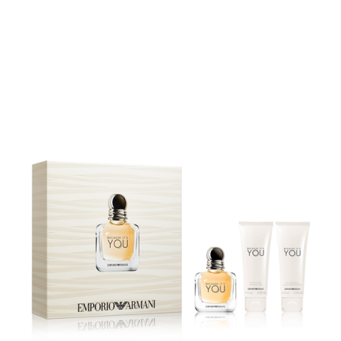 GIORGIO ARMANI                           - Emporio Armani for her - Because It's You - 1AM700BY4400