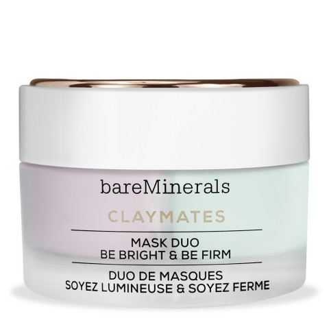 BAREMINERALS                             - Skincare - Claymates Mask Duo - Be Bright & Be Firm - 1BM886MA60002
