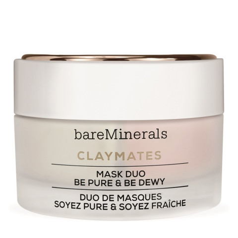 BAREMINERALS                             - Skincare - Claymates Mask Duo - Be Pure & Be Dewy - 1BM886MA60003
