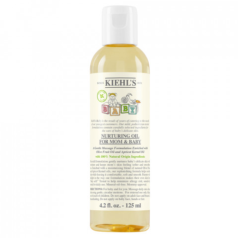 KIEHL'S                                  - Baby Line - Mom & Baby Nurturing Body Oil - 1KH804BY35001