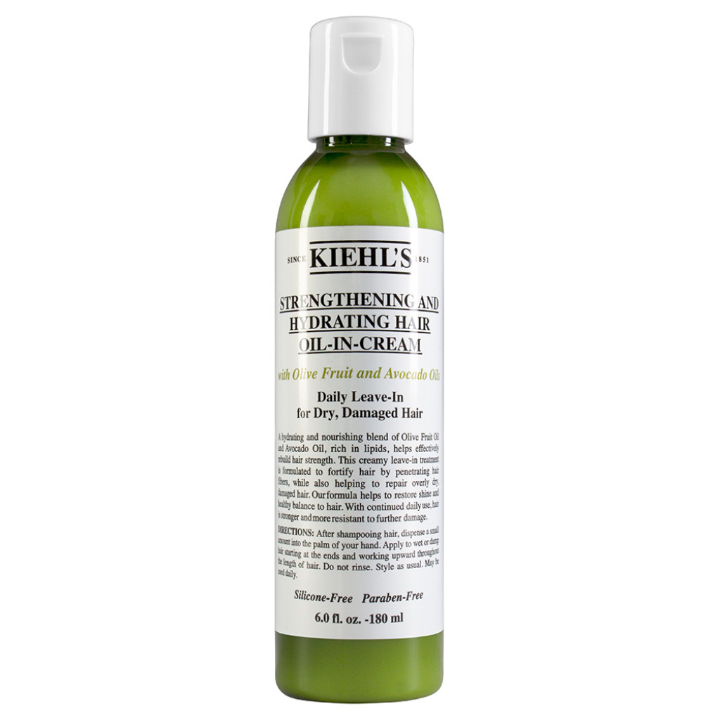 Strenghtening And Hydrating Hair Oil-In-Cream