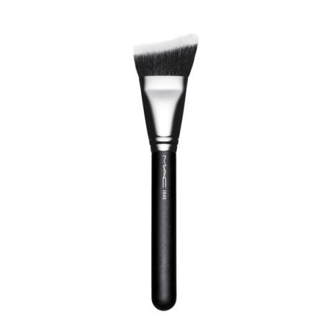 MAC                                      - Pennelli Viso - 164S Synthetic Duo Fibre Curved Sculpting Brush - 1MC858A10164S