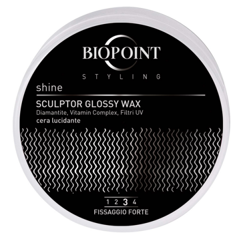BIOPOINT                                 - Styling - Shine Sculptor Glossy Wax - 351005010