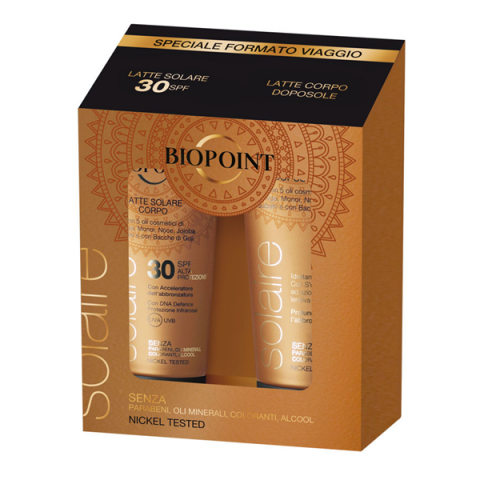 BIOPOINT                                 - Solaire Body - Travel Kit - 35102285001