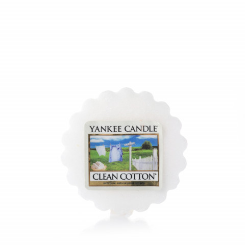 YANKEE CANDLE - Wax Melts - Clean Cotton - 1YC605CLCS5