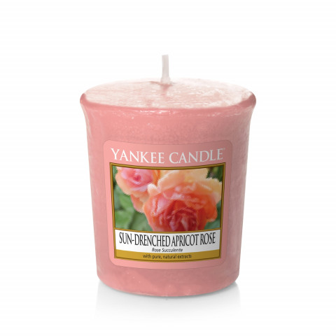 YANKEE CANDLE - Votive Candles - Sun-drenched Apricot Rose - 1YC605SDAS4