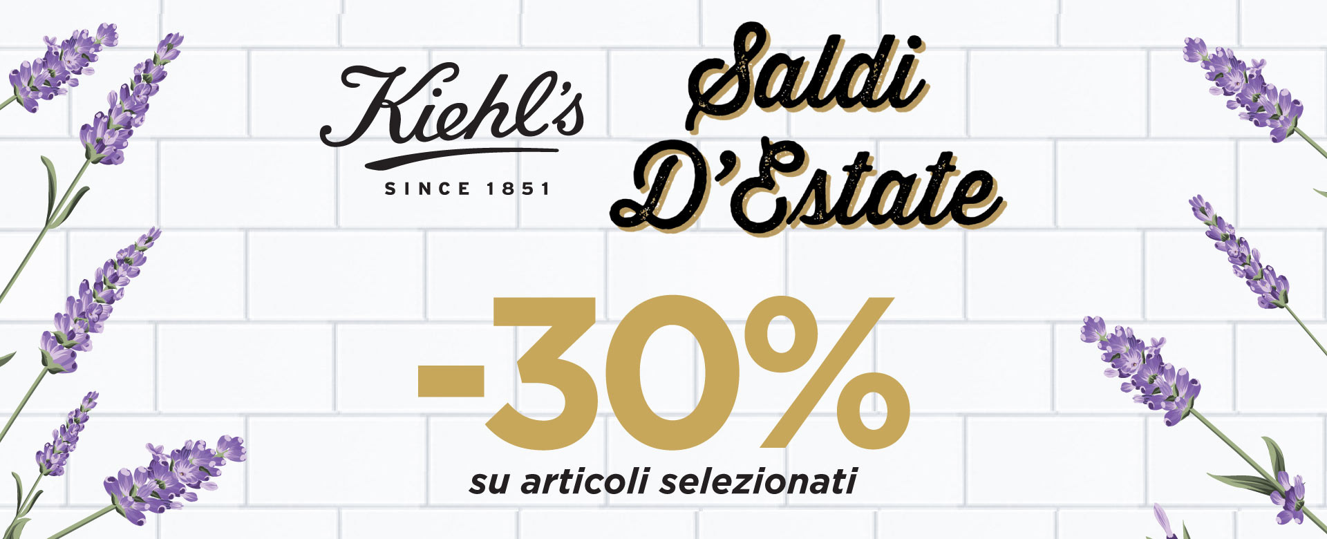 Kiehl's Saldi d'Estate