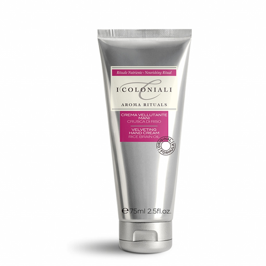 I Coloniali Velveting Hand Cream with Rice Bran Oil | Hand