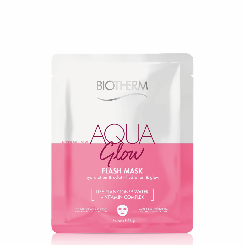 Aqua Glow Flash Mask