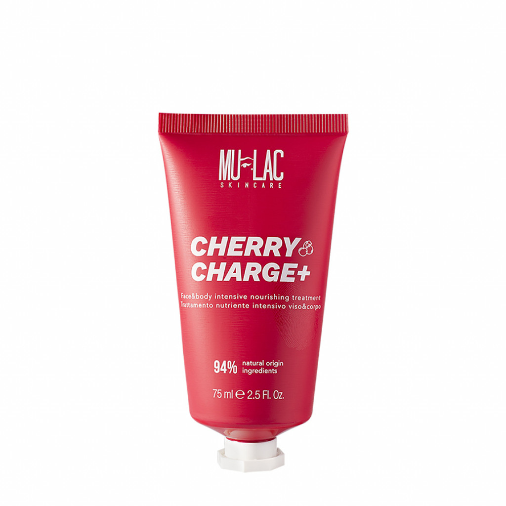 Mulac - Skin Care - Cherry Charge+ Face & Body Intensive Nourishing Treatment 75 Ml